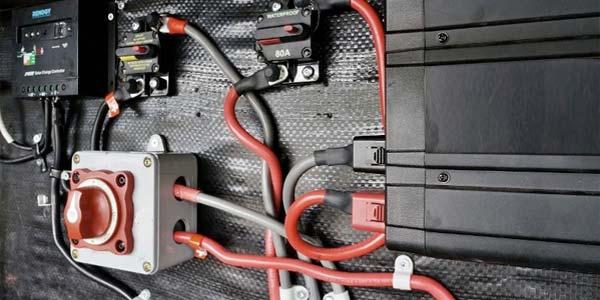 Camperización batería auxiliar
